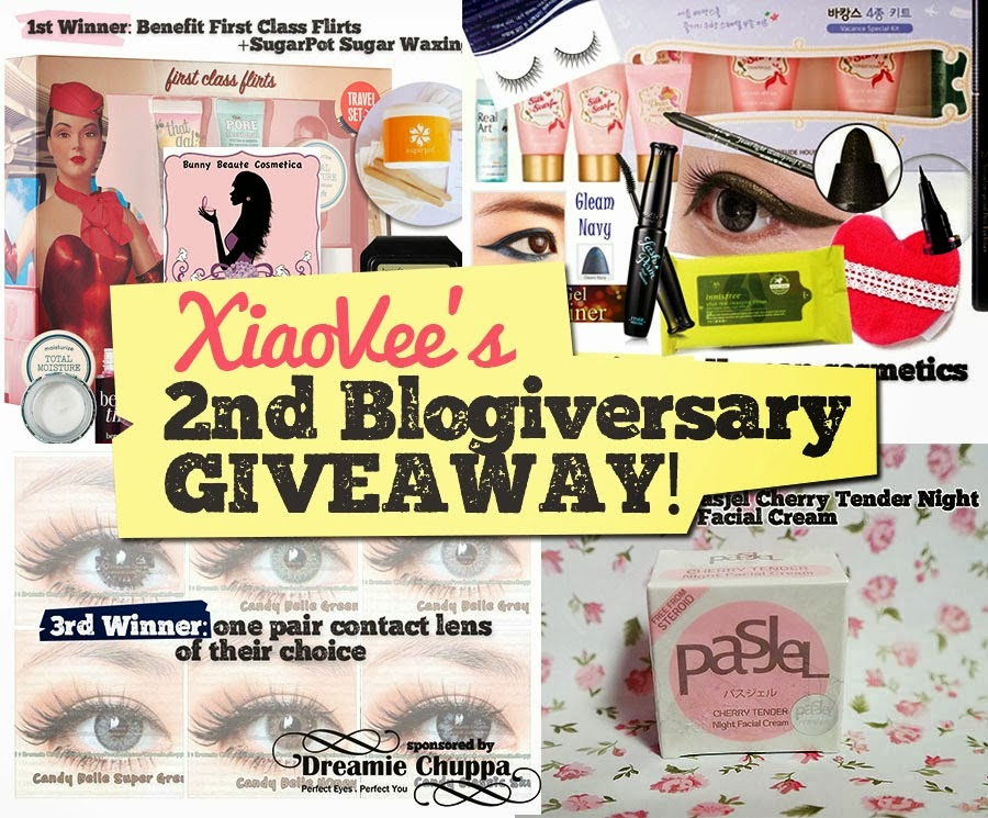 Xiao Vee 2nd Blogiversary