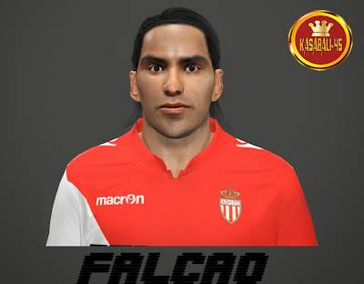 PES 2014 Falcao Face by Kasabali45