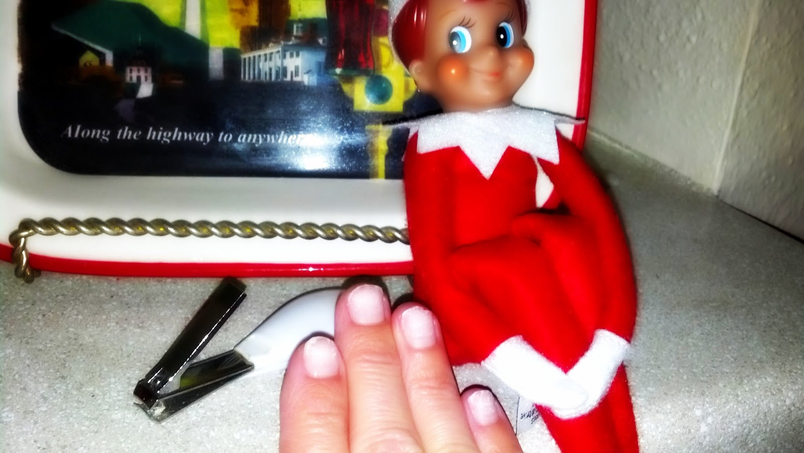 No Sparkle Nails, A Lack of Christmas Spirit, and an Angry Elf ...