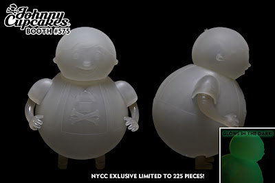 NYCC 2011 Exclusive GID Big Kid Vinyl Figure by Johnny Cupcakes