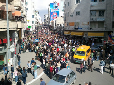 الاحتفال بسبت النور في رام الله 2011