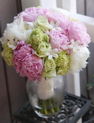 Bridal Bouquets Peonies Hydrangeas Roses 2013 Lilies Tulips with ...