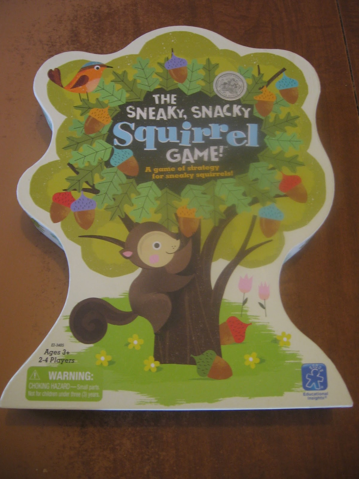 sneaky snacky squirrel game instructions