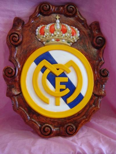Figura de escayola - Escudo Real Madrid