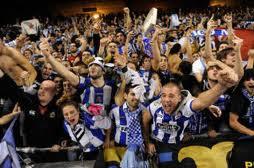 Afición del Deportivo de La Coruña en Riazor