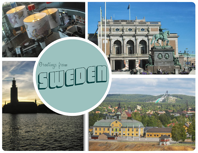 Postcard from Sweden