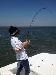 Chloe Fishing, JustGoFishin.com