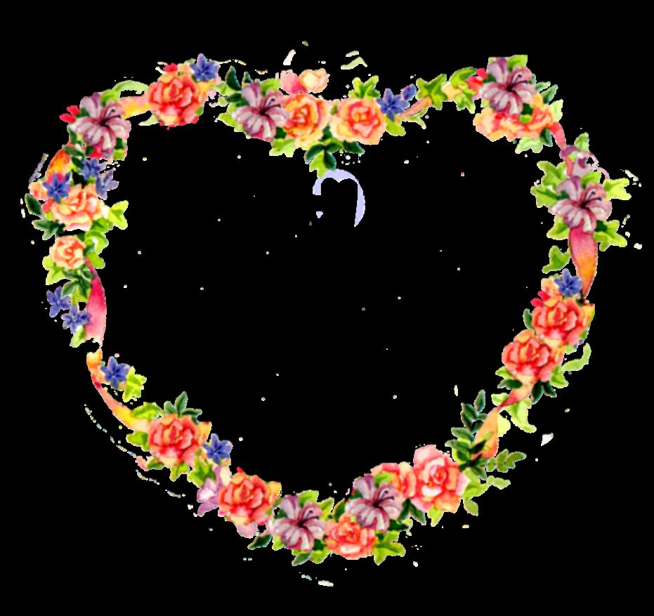 Flowers Heart   ClipArt Best