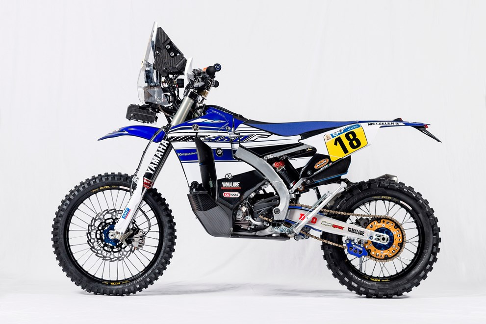 Racing caf yamaha wr 450f rally team yamalube yamaha for Yamaha racing team
