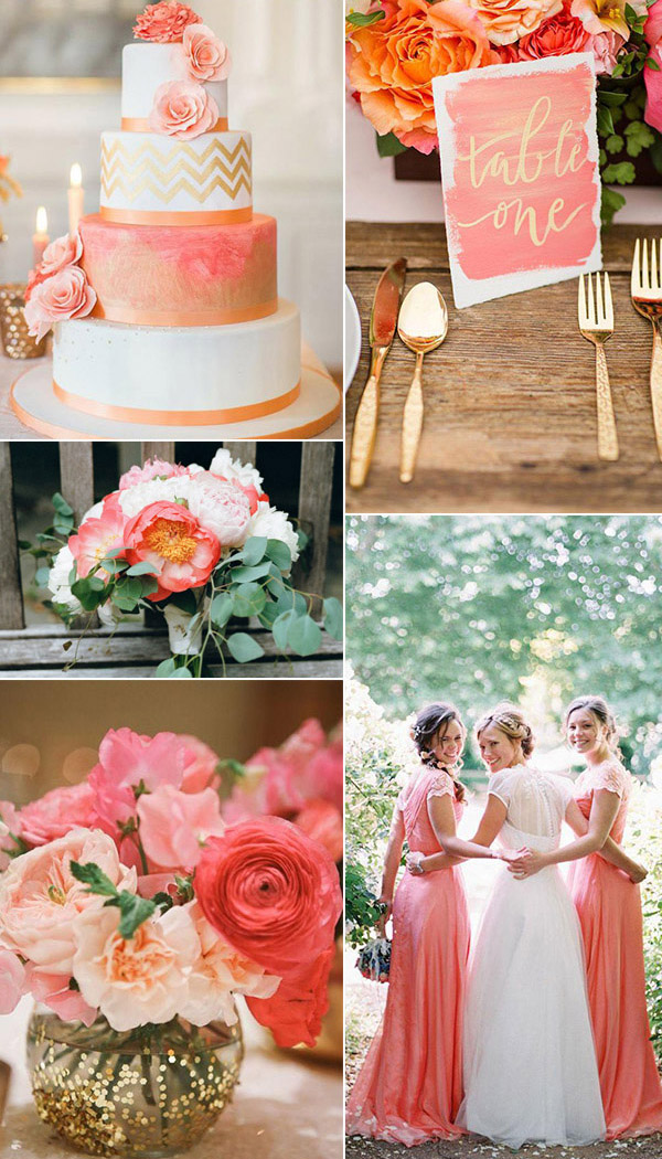 Top Five Wedding Colors For Spring 2016 Simple Elegance