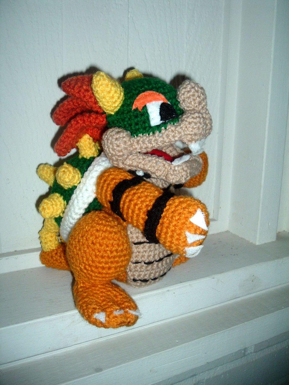 Nanette crochet super mario bowser super mario bowser dt1010fo