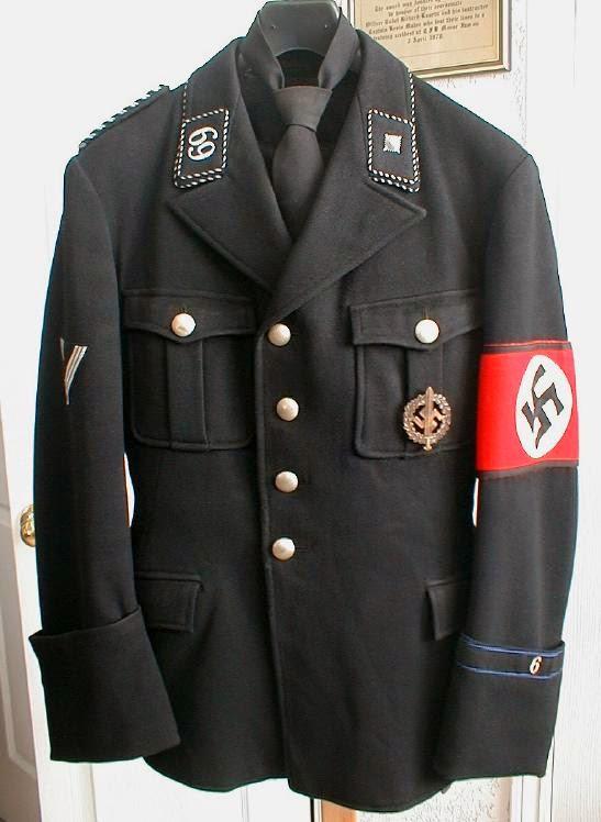 NAZI JERMAN Dijual Seragam Nazi Wehrmacht Waffen SS