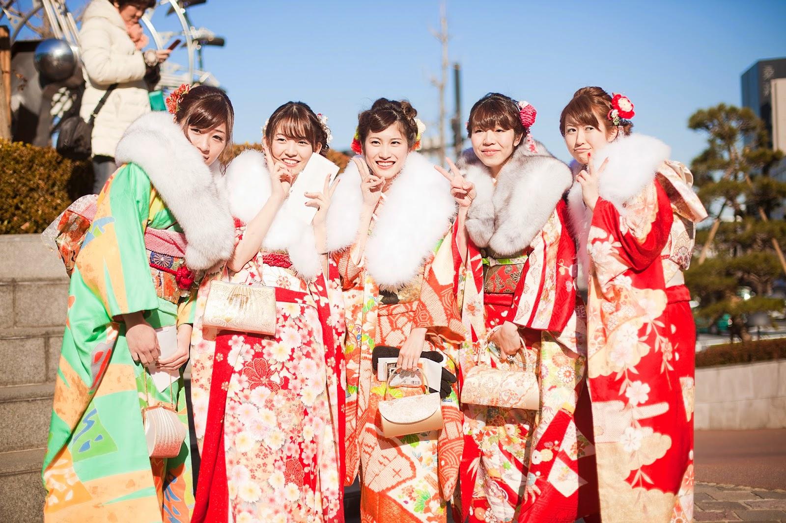 Japonesa en kimono 5