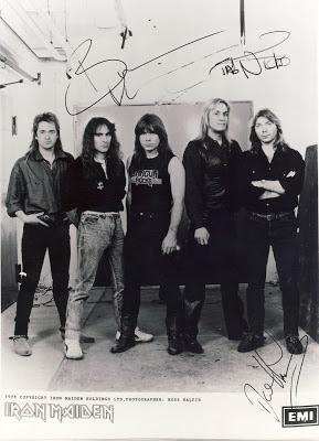 Η Αθήνα υποδέχεται τον  Σεπτέμβριο του  1988 τους Iron Maiden :