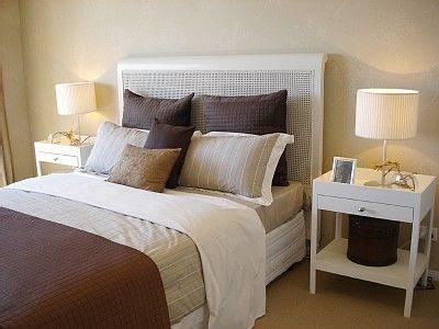Decoraciones y afinidades como decorar una moderna for Decoracion comodas habitacion matrimonio