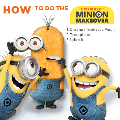 Give Your Twinkie A Minion Makeover Sweepstakes!
