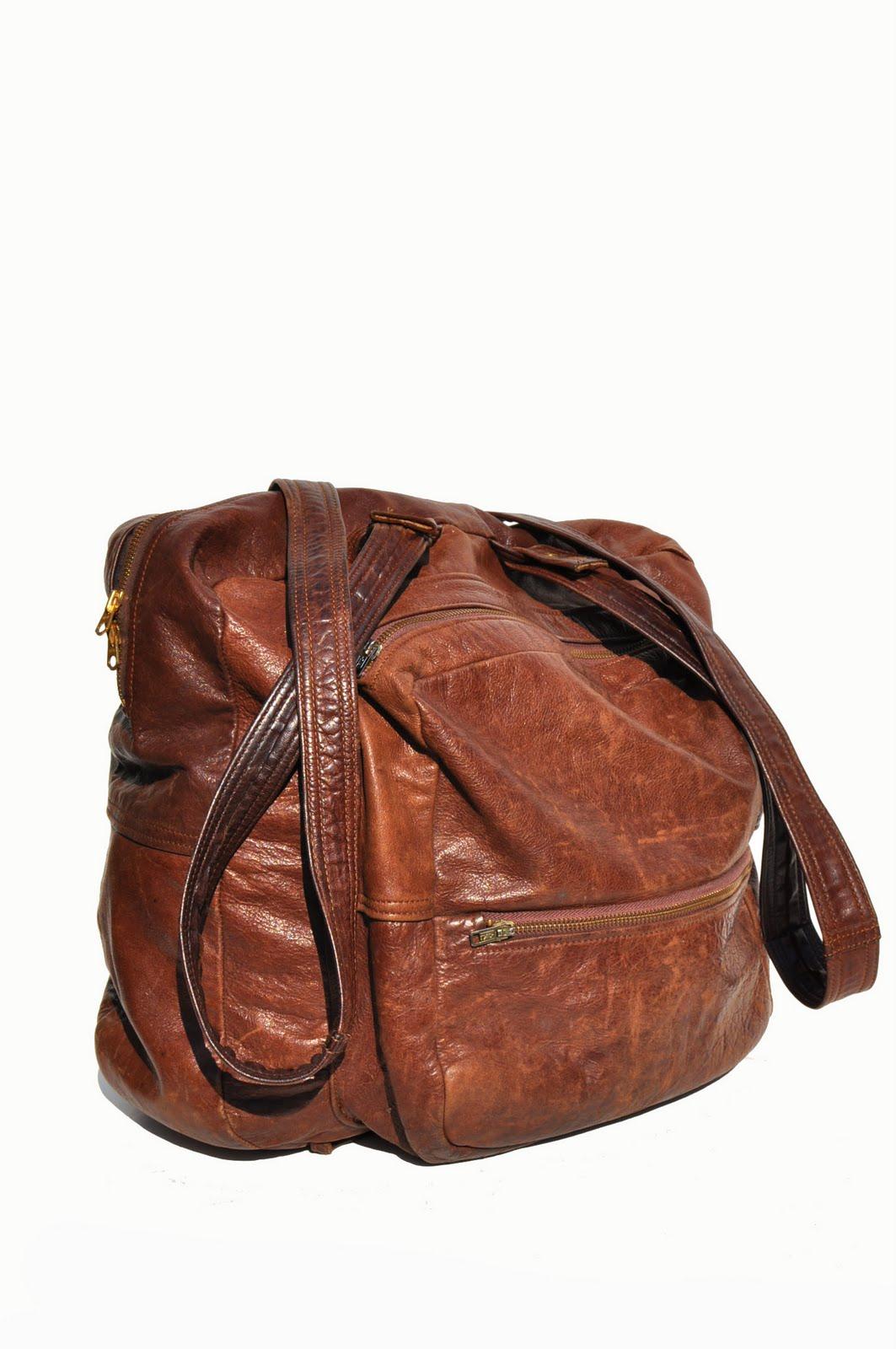 goodbye heart vintage vintage leather backpack. Black Bedroom Furniture Sets. Home Design Ideas
