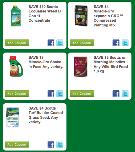 Scotts fertilizer discount coupons