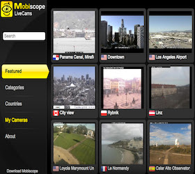 Mobilescope LiveCams Google TV Channel