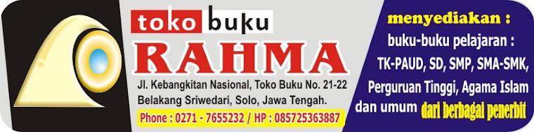 TOKO BUKU RAHMA 3