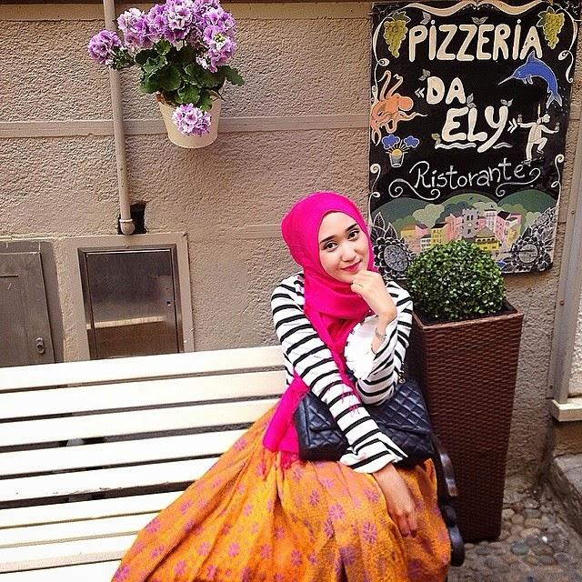 Baju Muslim Wanita Casual ala dian pelangi
