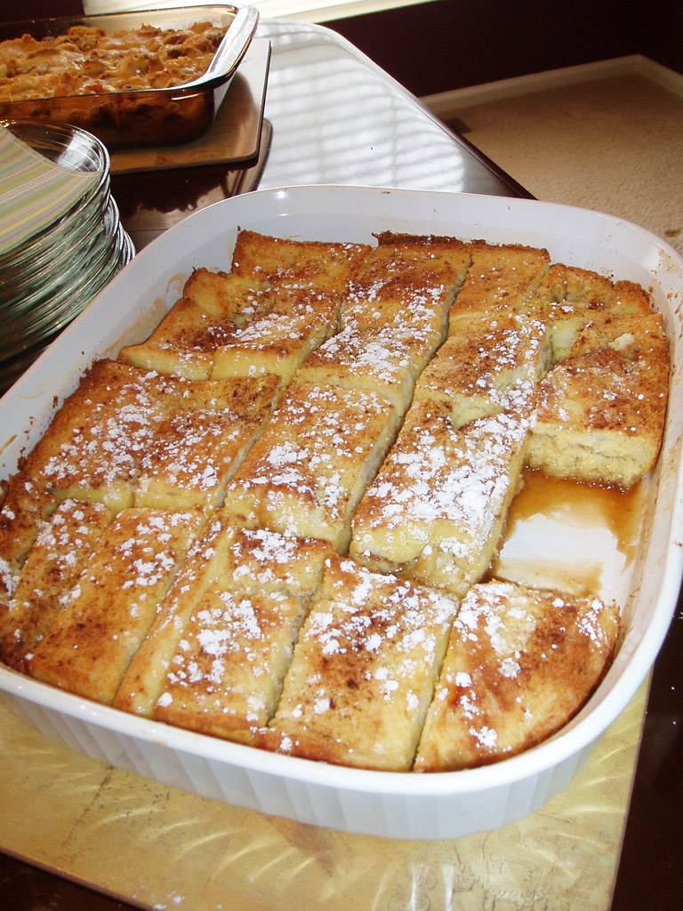 Easy Baked French Toast Recipe It Was Delicious!! I Made It With Portuguese  Sweet