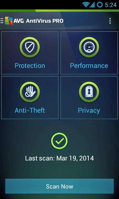 Mobile AntiVirus Security PRO v4.0.0.1