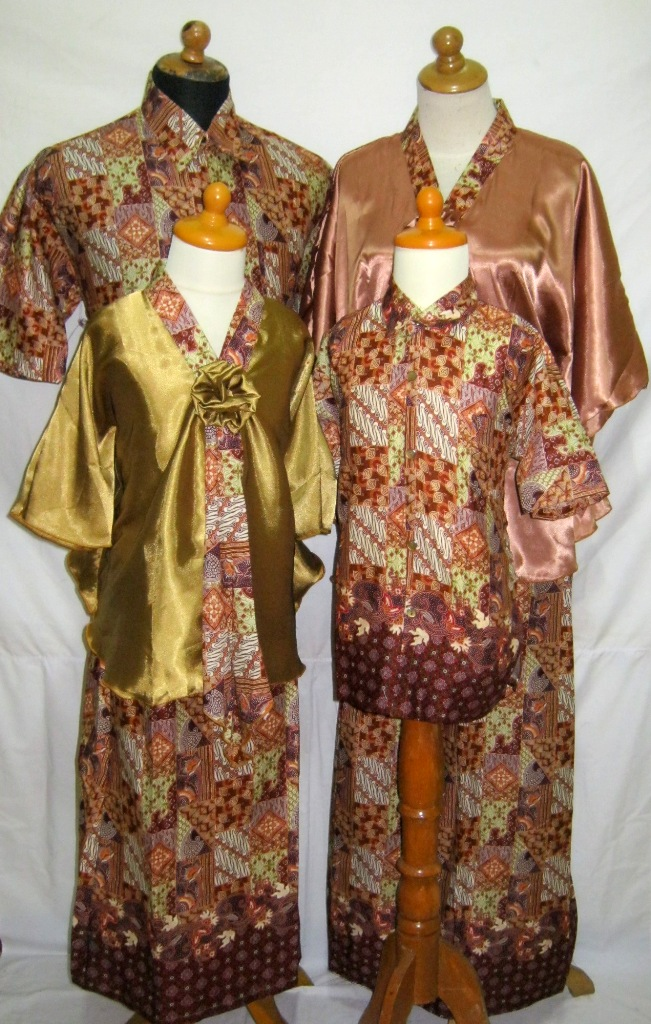 Model Baju Batik Pasangan Model Baju Batik Modern