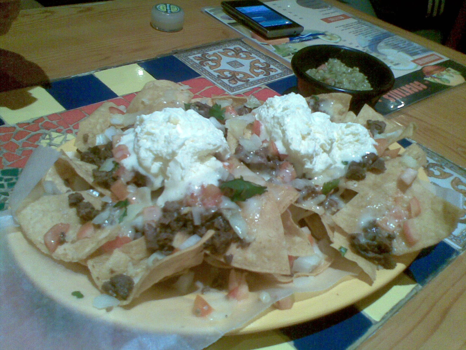 Carne Asada FriesFrench fries served with sour cream, guacamole ...
