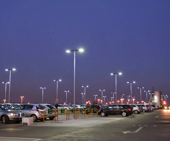 LED light much adapting now for urban street lighting