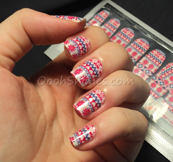 Incoco nail polish strips Cozy Up