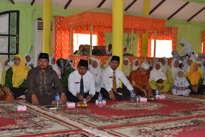 Kakankemenag Kota Tanjungbalai Hadiri Peringatan Maulid Nabi Besar Muhammad SAW