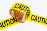 caution, bread, clean eating,