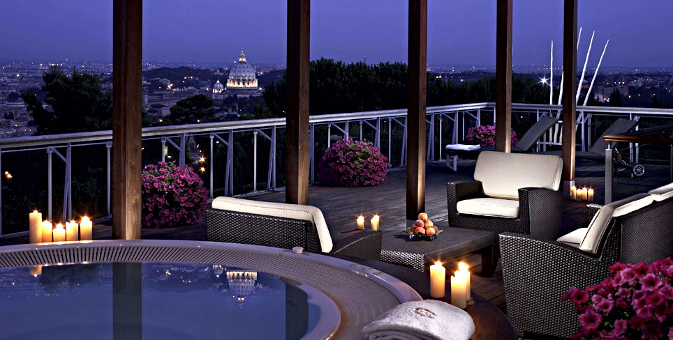 The best hotels in the world rome cavalieri hotel five for Very luxury hotels