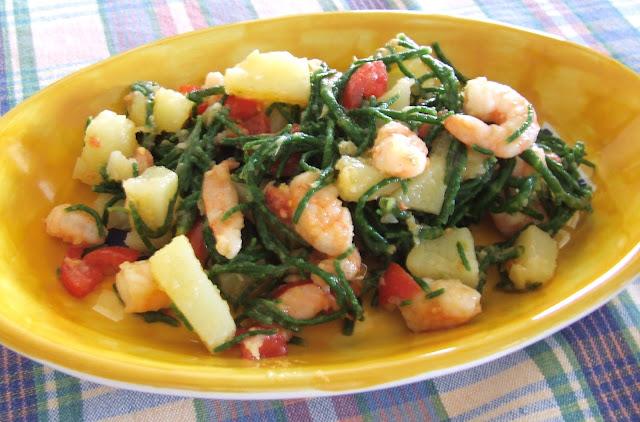 salicornia o asparago di mare?  succulenta di nome e di fatto