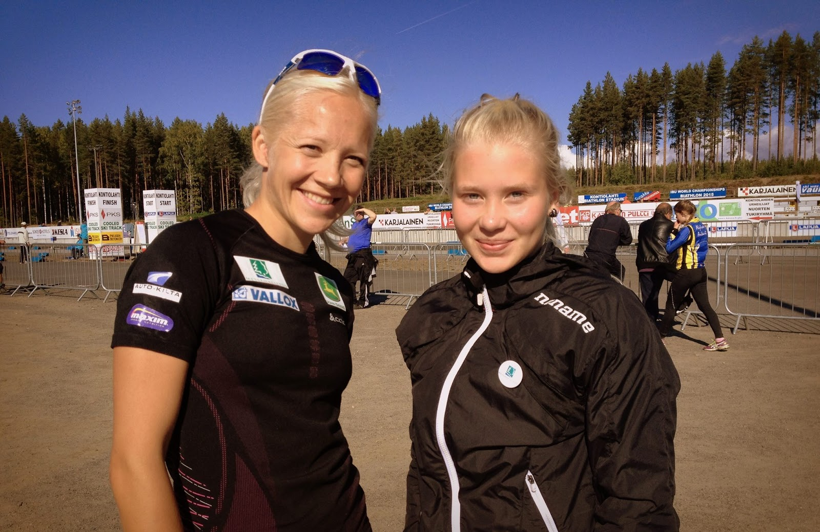 Kaisa Makarainen and Jessika Rolig