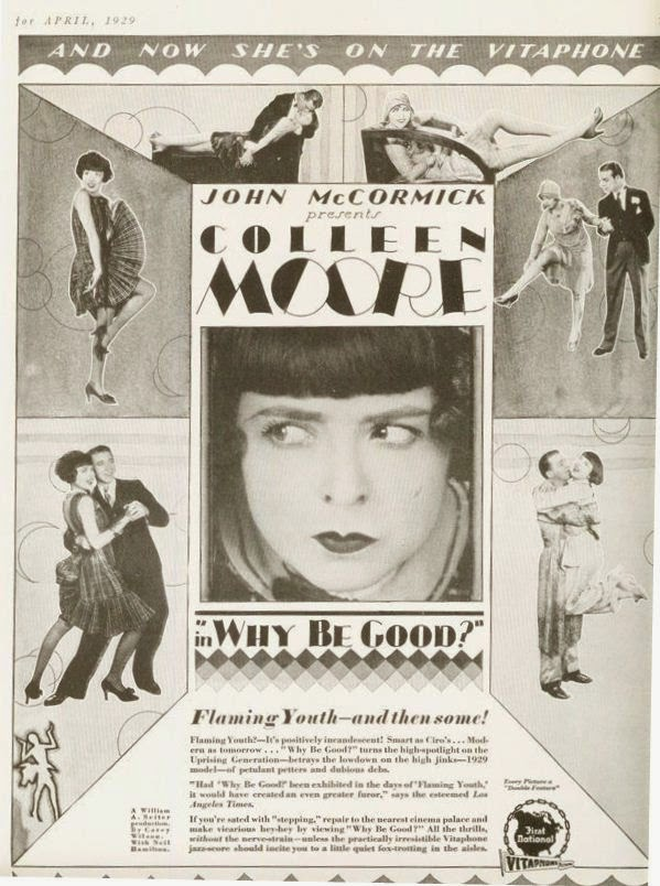 Why be Good? starring Colleen Moore