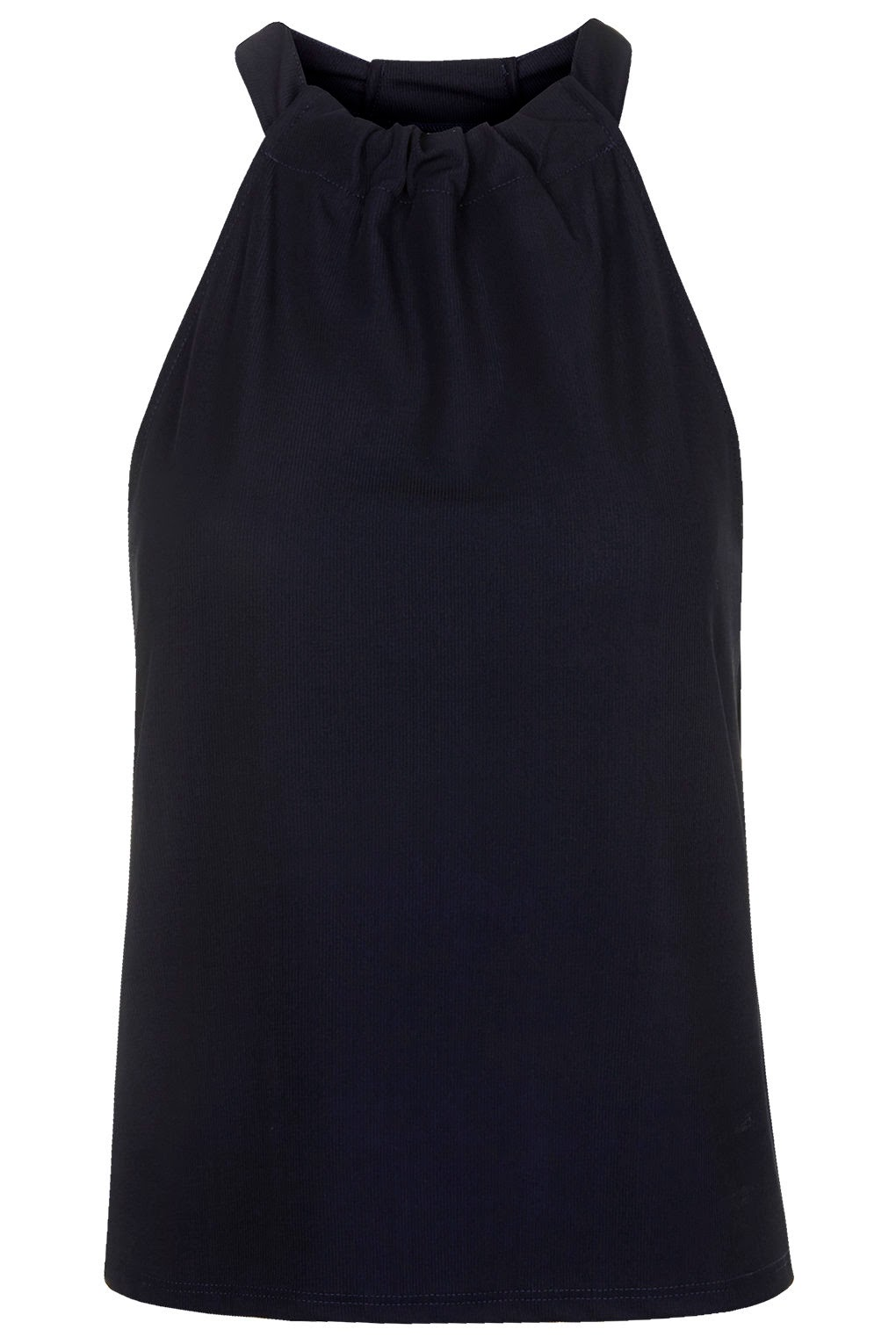navy halter neck top, topshop halter neck top,