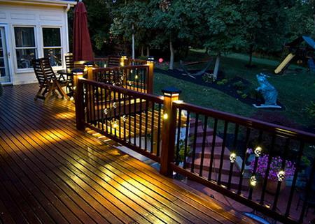 exotic deck lights fixture decor design