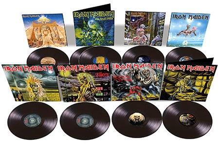 Επανακυκλοφορίες σε βινύλιο από τους Iron Maiden 2014blackvinyl_450