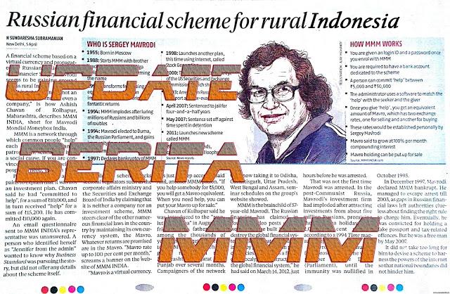 News Update MMM Mavrodi Indonesia Tentang 1 (Satu) Bulan Perpanjangan Dari Mavro Lama Dicairkan