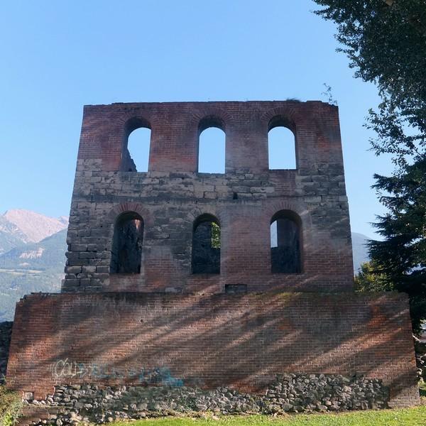Aoste Aosta Italie tour pailleron