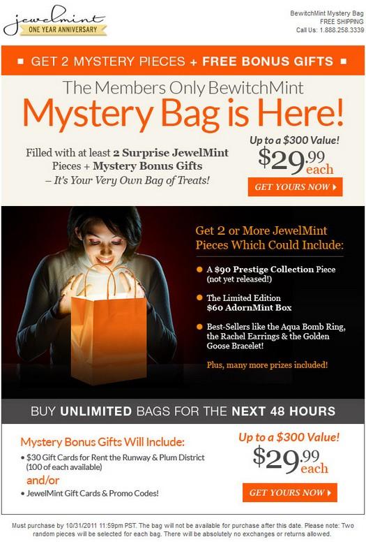 Jewelmint coupon code