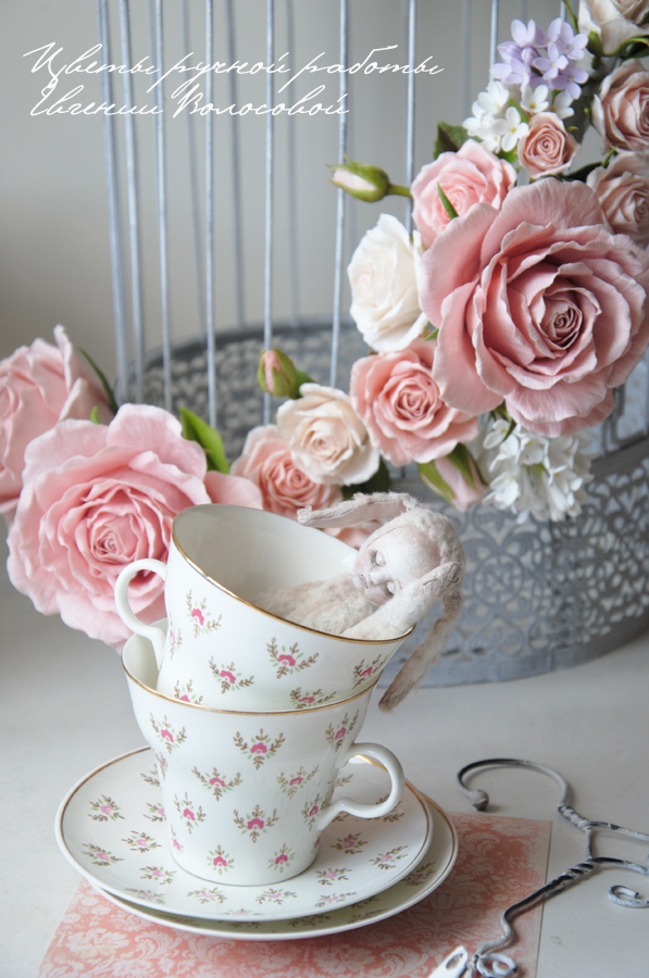 Цветы шебби Промывка форсунки своими руками фото
