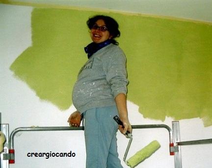 Cameretta Lilla E Verde : Creargiocando paint your life cameretta bimbi cielo stellato