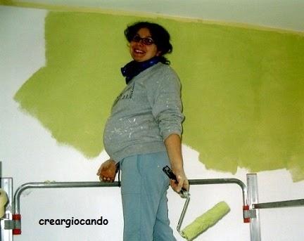 Creargiocando paint your life cameretta bimbi cielo - Colori pareti camerette bimbi ...