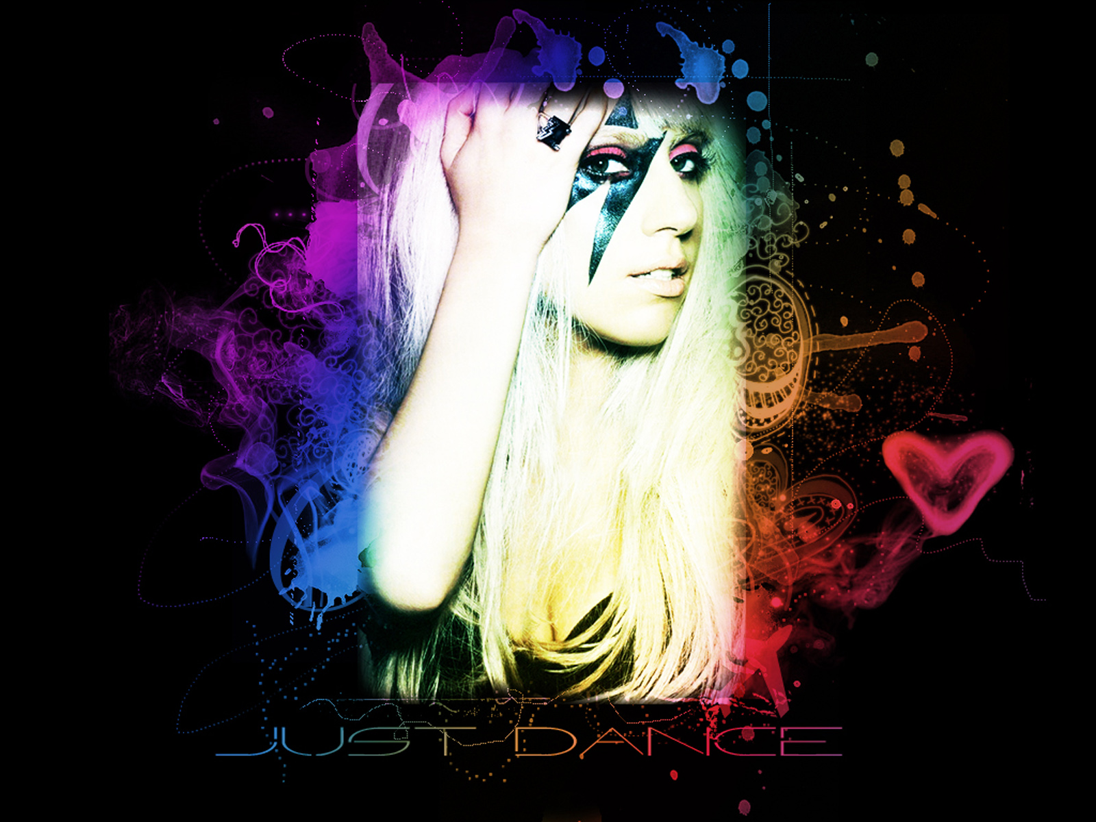 Lady gaga, on just dance album