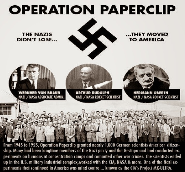 Not everything from Hollywood is a Fairy Tale....  Operation%2Bpaperclip