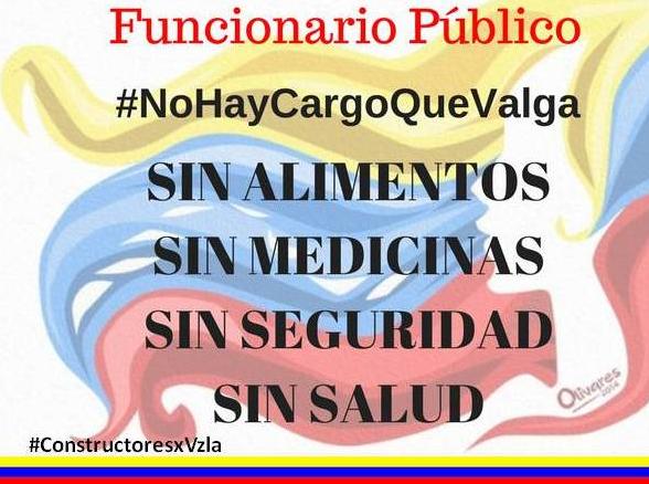 Funcionario Público #NoHayCargoQueValga