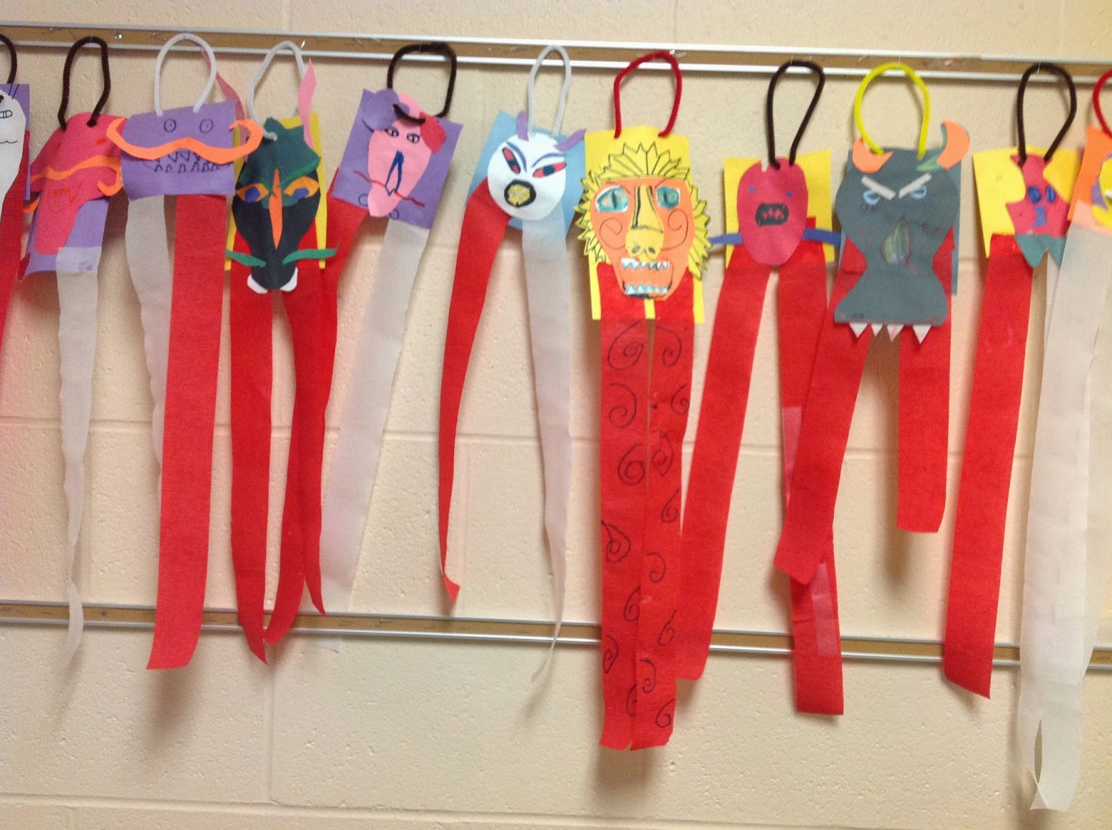 Second Grade Chinese New Year Dragons Art Lesson